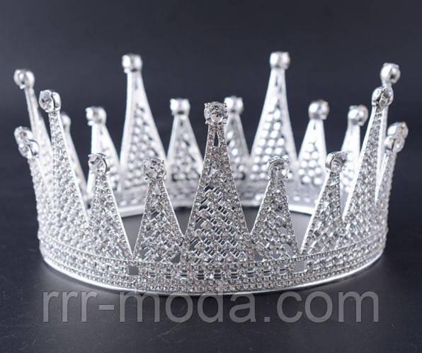 Круглые свадебные короны оптом.