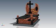 Элитный памятник с крестом