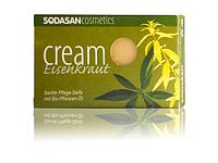 Органическое мыло-крем Verbena для лица с маслами Ши и Вербены  SODASAN 100 г