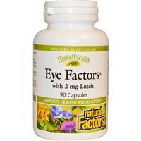 Витамины для глаз с лютеином, Natural Factors, 90 капсул