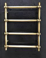 Бронзовая сушилка для полотенец Ретро Цилиндр 500*700 04П, латунь