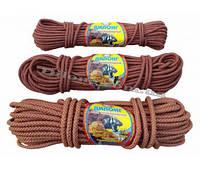 Фал плетёный корд диаметром 8 мм мотки по 25 метров