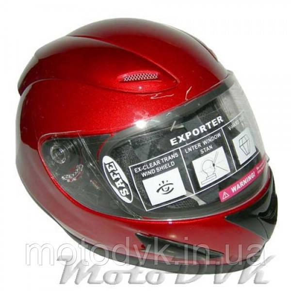 Шлем DVK KY-118 (DOT FMV SS 218)  красн.