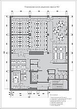 Планировка и расстановка мебели в офисе, фото 2