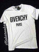 Женская летняя футболка с накаткой Givenchy, фото 1