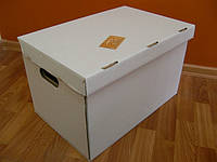 Архивный короб 480х325х300, светлый