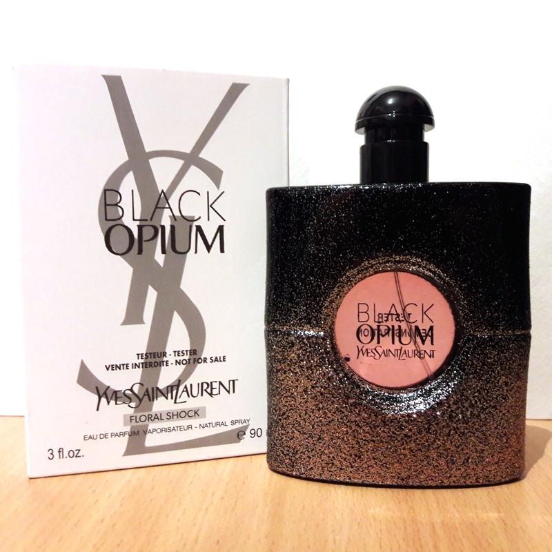 Yves Saint Laurent Black Opium Floral Shock парфюмированная вода