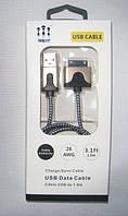 USB Кабель Treble ET для зарядки и синхронизации iPhone 4, фото 1