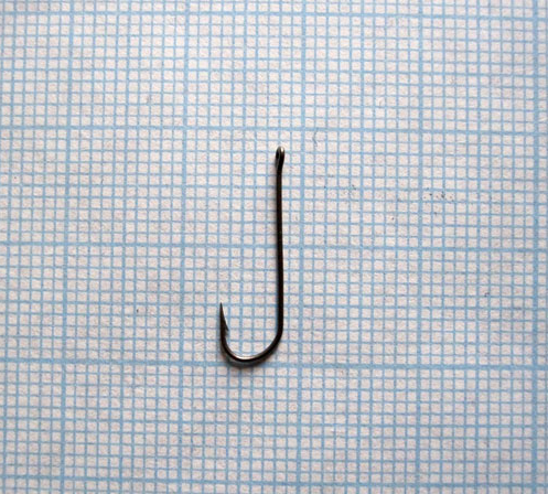 Крючок одногибый с кольцом тип II 4-0,5-16, 1000шт.