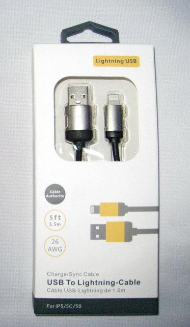 USB Кабель Treble ET для зарядки и синхронизации iPhone 5