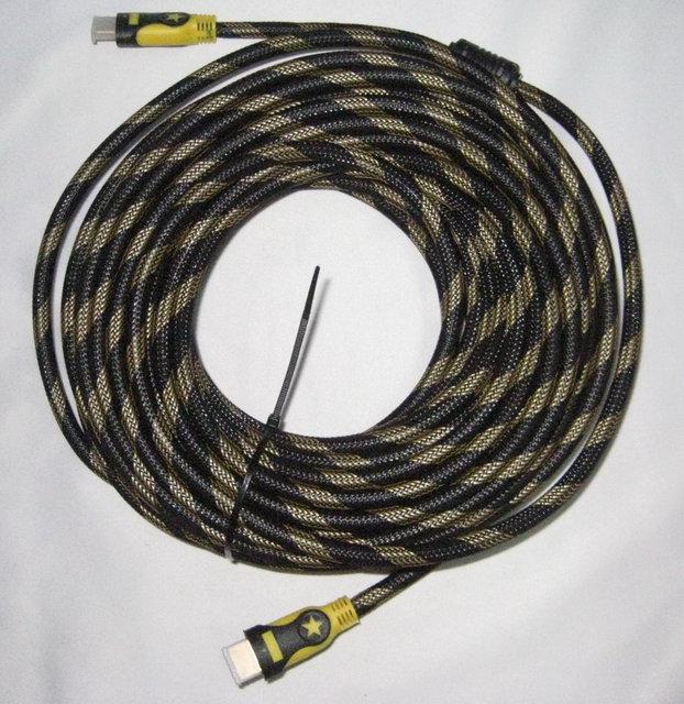 Кабель провод High Speed H-H Cable 20 м HDMI