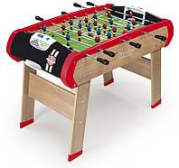Деревянный   футбольный полупрофессиональный  стол Smoby Чемпион