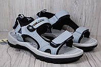 BONA кожаные спортивные подростковые сандалии, фото 1