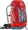 Красный рюкзак на 24 л. для треккинга, хайкинга ACT TRAIL 24 DEUTER, 34407 5520