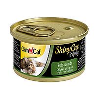 Консервы Gimborn GIMPET для котов курица и трава 0,07 кг