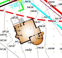 Геодезичний супровід та контроль всіх етапів будівництва (перенесення осей будівель та споруд)