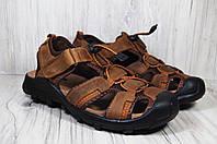 Спортивные мужские сандалии с закрытым носком Razor натуральный нубук, фото 1