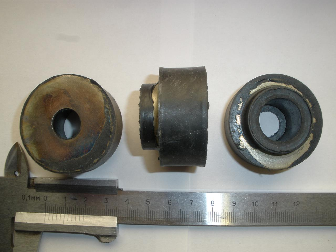Подушка двигателя ПАЗ 672, 3205, 3205-110, 32053 нижняя (64-6039-А2, пр-во ЯРТИ)