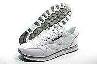 Кроссовки мужские в стиле Reebok Classic Leather, Белые