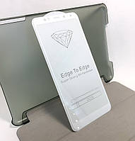 Xiaomi Redmi 5 Plus захисне скло на телефон протиударне 5D full glue White біле