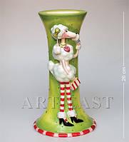 Фарфоровая ваза Pavone Пудель 26 см CMS - 03/11
