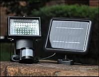 Прожектор на солнечной батарее 60LED