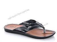 Шлепки мужские Selena 0515 черный (40-44) - купить оптом на 7км в одессе