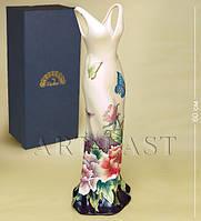 Фарфоровая напольная ваза Pavone Платье 60 см JP-247/19