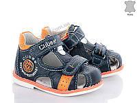 Сандалии детские Style-baby N220 d.blue-orange (18-23) - купить оптом на 7км в одессе