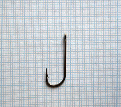 Крючок одногибый с кольцом тип II 7-0,8-20, 1000шт.
