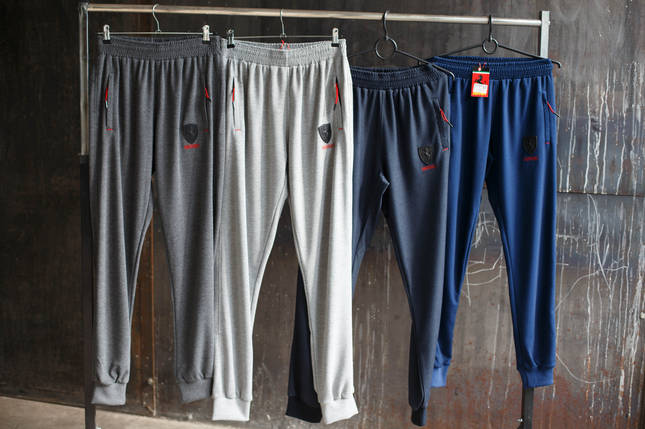 Спортивные штаны мужские Puma Scuderia Ferrari, фото 2