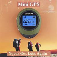Мини GPS навигатор брелок для рыбалки, охоты, туризма : Запоминает координаты, фото 1