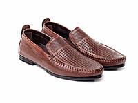 Мокасины Etor 14949-6590-1 коричневые, фото 1