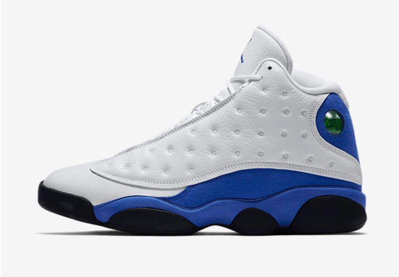 Баскетбольні Кросівки Nike Air Jordan 13 Retro White Blue — в ... 2f7ef1655de2d