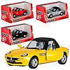 Машинка KT 5022 W, металл, инецрия, 12, 5 см, 1:36, 4 цвета, отк.дв, в коробке, 16-7, 5-8 см