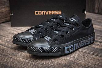 Кроссовки женские  Converse, черные (2519-3),  [  38 (последняя пара)  ]