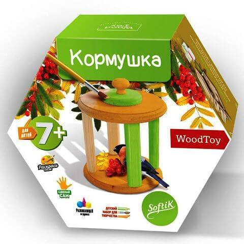 Мастерим Кормушку для птиц Softik