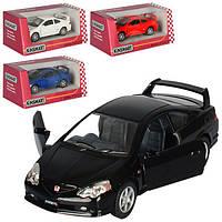 Машинка KT 5053 W, металл, инер-я, 1:34, 12 см, откр.дв, рез. колеса, 4 цвета, в коробке, 16-7-8 см