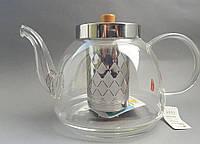 Стеклянный заварник для чая  1200мл.