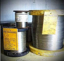 Проволока нихромовая 1,6 мм х20н80 10метров