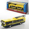Троллейбус 6407D, металл, инер-й, 16-4, 5-3, 5 см, 1:72, рез. колеса, в коробке, 20-8-6 см