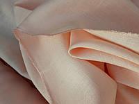 """Льняная костюмная ткань """"Персиковый пух"""""""