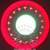 """LED светильник 6+3W """"Звезды"""" с красной подсветкой / LM 540 круг"""
