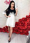Женское шифоновое платье с кружевом (3 цвета), фото 4