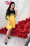 Женское шифоновое платье с кружевом (3 цвета), фото 8