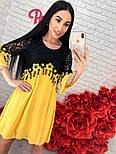 Женское шифоновое платье с кружевом (3 цвета), фото 9