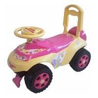 Детская машинка-каталка ТМ Doloni  с музыкальным рулем
