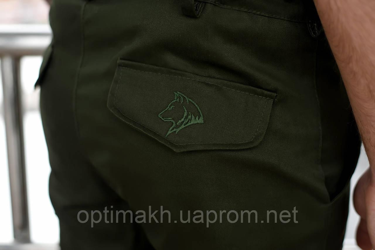 fc9a166f72b7 Штаны карго cargo мужские хаки BRASH MAN AND WOLF pants cotton