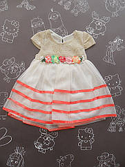 Детское нарядное платье Baby для девочки на 9 месяцев