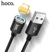 USB кабель Hoco U28 Magnetic Lightning black